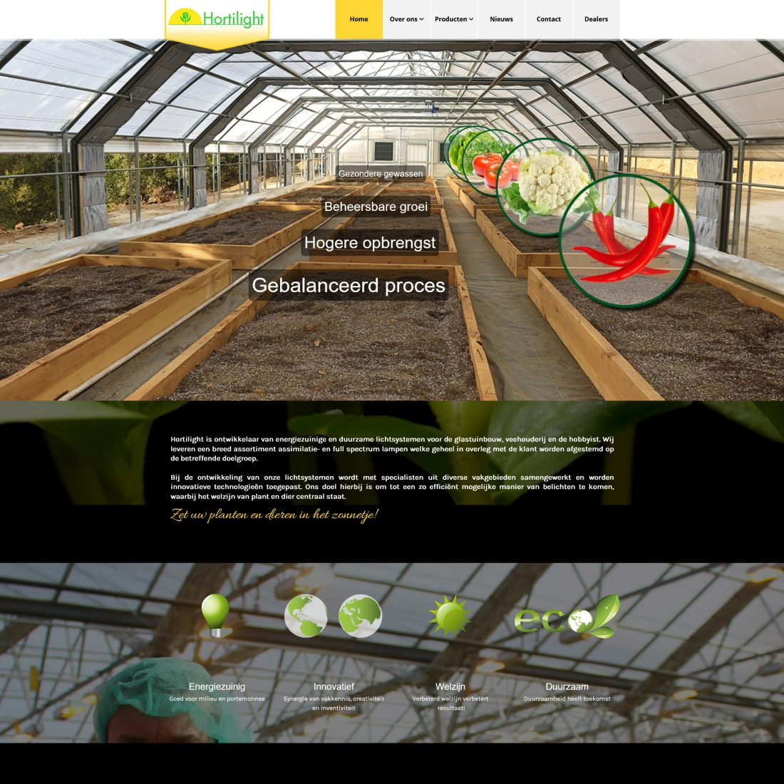 Website Hortilight.eu